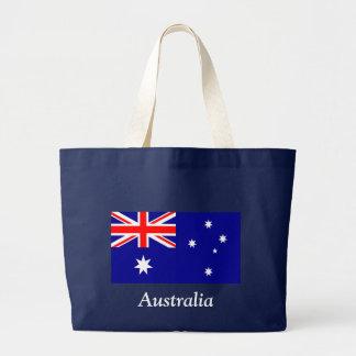 Flag of Australia Jumbo Tote Bag