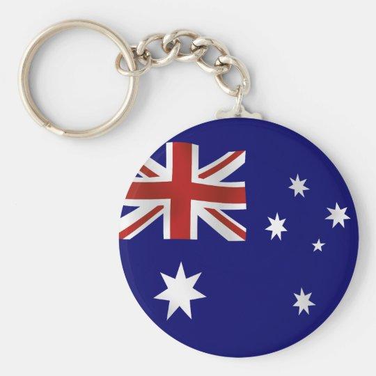 Flag of Australia Keychain