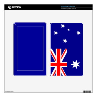 Flag of Australia Kindle Fire Decal