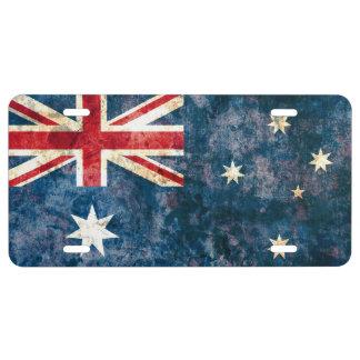 Flag of Australia License Plate