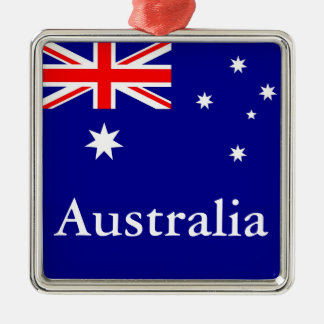 Flag of Australia Metal Ornament