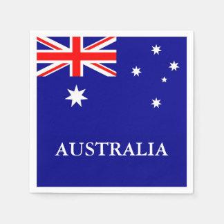 Flag of Australia Paper Napkin