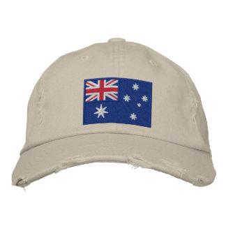 Flag of Australia Personalized Cap