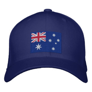 Flag of Australia Personalized Embroidered Baseball Cap