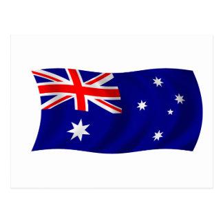 Flag of Australia Postcard