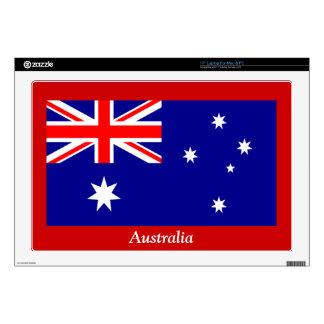 """Flag of Australia Skin For 17"""" Laptop"""