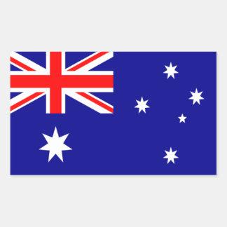 Flag of Australia Rectangular Sticker