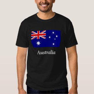 Flag of Australia T Shirts