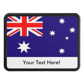 Flag of Australia Trailer Hitch Cover