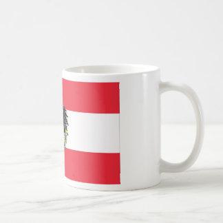 Flag of Austria - Flagge Österreichs Coffee Mug