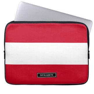 Flag of Austria Laptop Sleeves