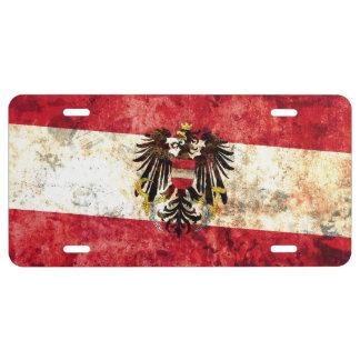 Flag of Austria License Plate