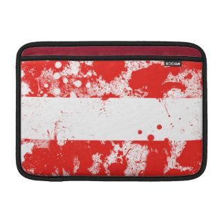 Flag of Austria MacBook Sleeves