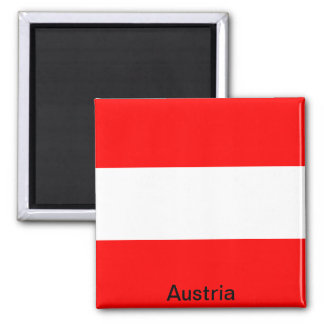 Flag of Austria Magnet