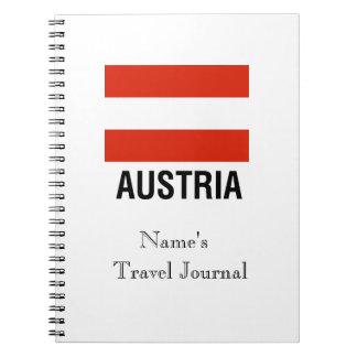 FLAG of AUSTRIA Notebook