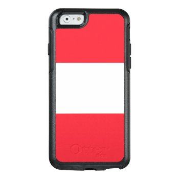 Flag Of Austria Otterbox Iphone Case by Flagosity at Zazzle