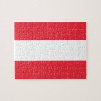 Flag of Austria Photo Puzzle