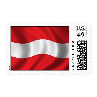 Flag of Austria Postage