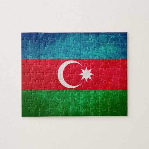 Flag of Azerbaijan Jigsaw Puzzles