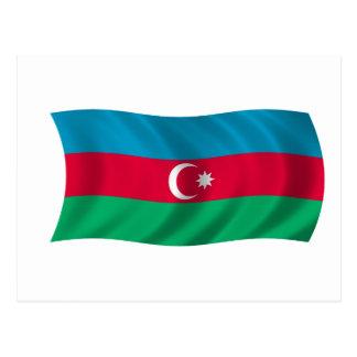 Flag of Azerbaijan Postcard