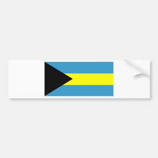 Flag of Bahamas Bumper Sticker