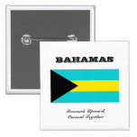 Flag of Bahamas Buttons