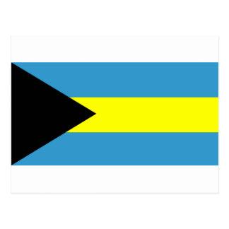 Flag of Bahamas Postcard