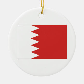 Flag of Bahrain Ceramic Ornament