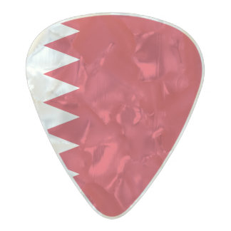 Flag of Bahrain Guitar Picks