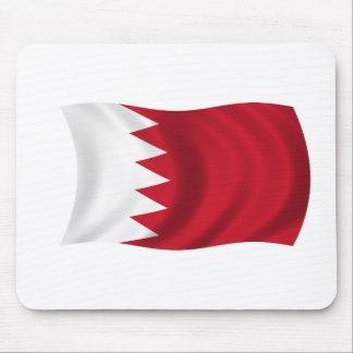 Flag of Bahrain Mouse Pad