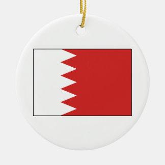 Flag of Bahrain Christmas Tree Ornament