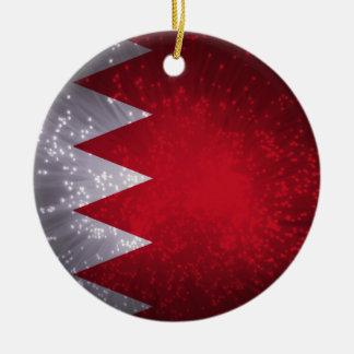 Flag of Bahrain Christmas Ornament
