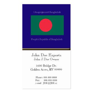 Flag of Bangladesh Business Card Template
