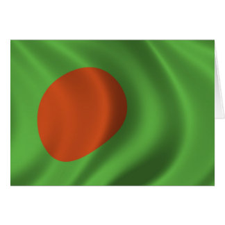 Flag of Bangladesh Card