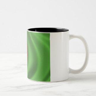 Flag of Bangladesh Two-Tone Coffee Mug