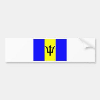 Flag of Barbados Bumper Sticker