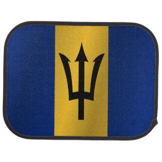 Flag of Barbados Car Floor Mat