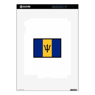 Flag Of Barbados Decal For iPad 2