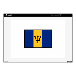 Flag Of Barbados Decals For Laptops