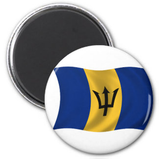 Flag of Barbados Magnet