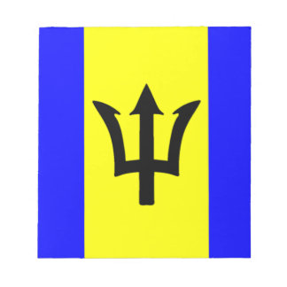 Flag of Barbados Note Pad