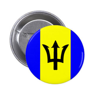 Flag of Barbados Pinback Button