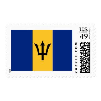 Flag of Barbados Postage Stamps