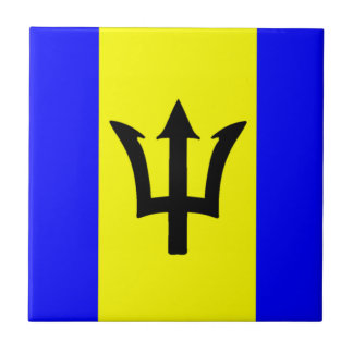 Flag of Barbados Tile