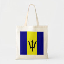 Flag of Barbados Tote Bag