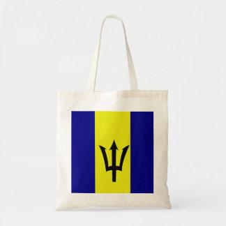 Flag of Barbados Tote Bag