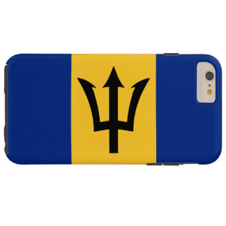 Flag of Barbados Tough iPhone 6 Plus Case