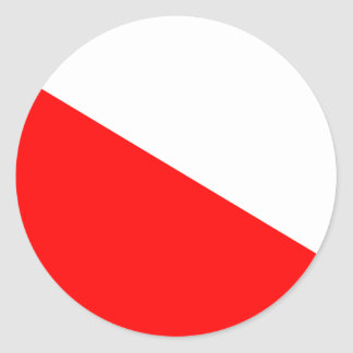 Flag of Barotseland Classic Round Sticker