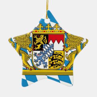 Flag OF Bavaria Ceramic Ornament