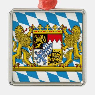 Flag OF Bavaria Metal Ornament